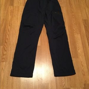 "Lululemon 🍋 navy lined drawstring pants 34"" insea"